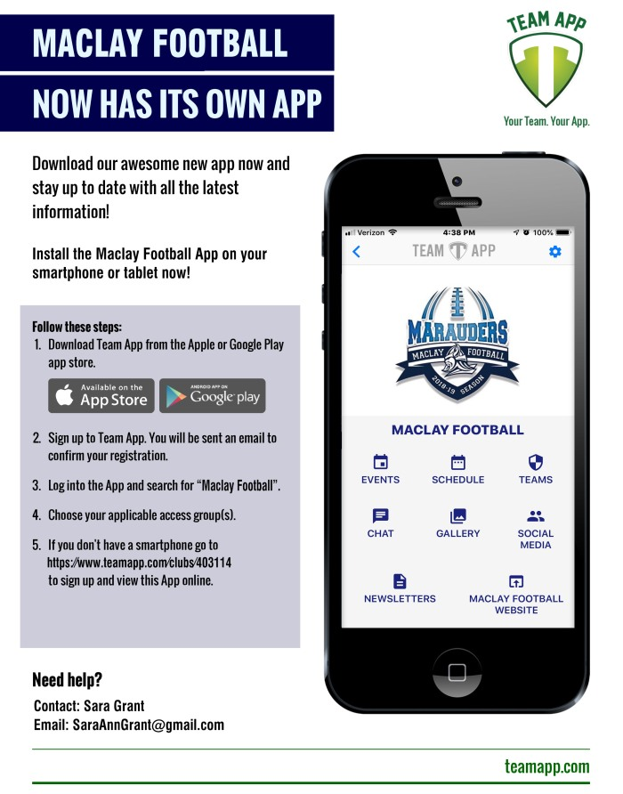 Maclay-Football-App